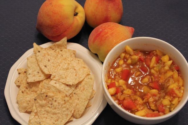 Peach salsa 2