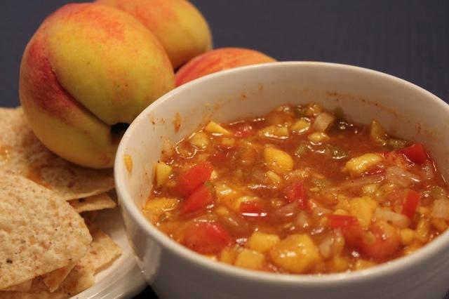 Peach salsa 3