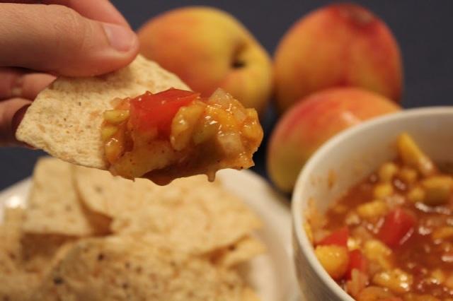 Peach salsa 4