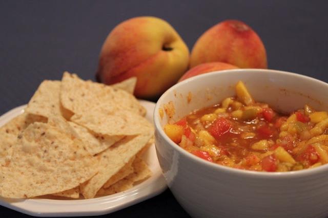 Peach salsa1